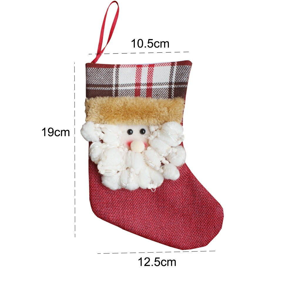 Christmas Cartoon Socks 3 Pairs
