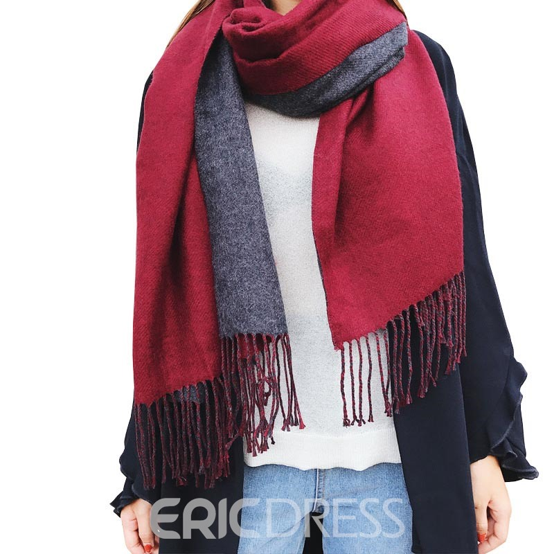 Ericdress Cashmere-Like Thicken Women's Scarf