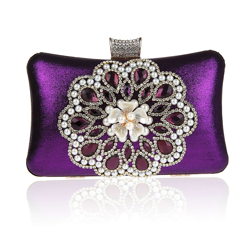 Ericdress Beads Rhinestone Decoration Evening Clutch