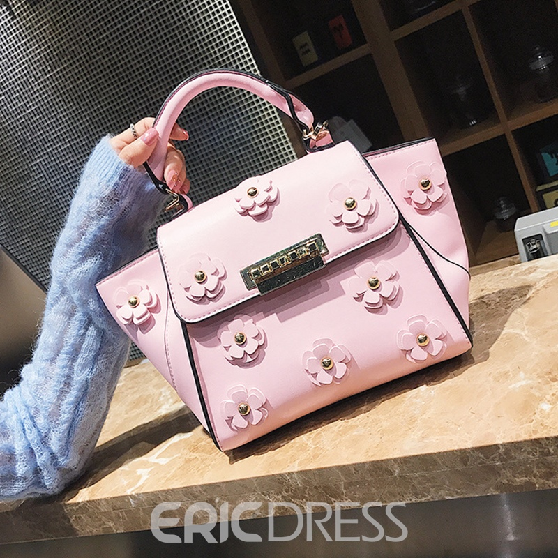 Ericdress Vogue Floral Decoration Women Handbag
