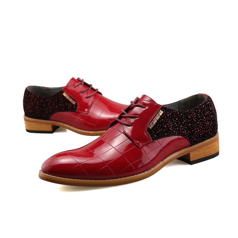 Ericdress Portable Patchwork Low-Cut Men's Oxfords