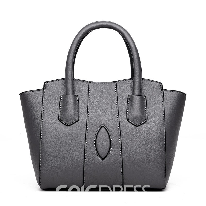 Ericdress Casual Solid Colpr PU Women Handbag