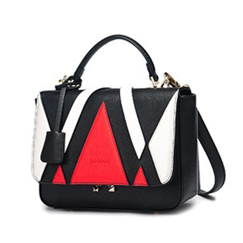 Ericdress Trendy Patchwork Women Handbag