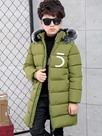 Ericdress Fashion Letter Print Zipper Thick Boy's Down Jacket