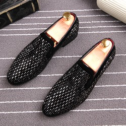 Ericdress Fashion Rivet Slip-On Mens Oxfords - $60.24