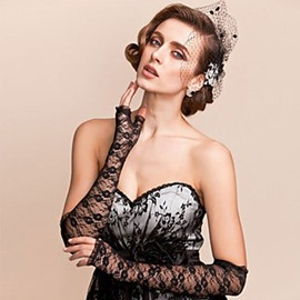 Ericdress Alluring Lace Women's Gloves for Wedding