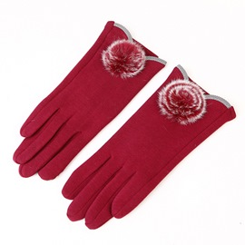 Ericdress Graceful Touchscreen Pure Color Women's Gloves
