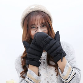 Ericdress Down Cotton Thicken Warm Gloves for Women