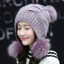 Ericdress Warm&Fashionable Knitting Wool Winter Hat for Women