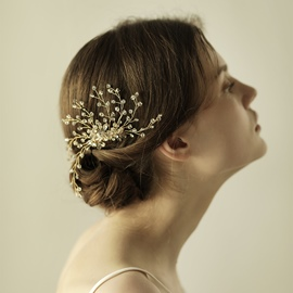 Ericdress Vintage Fully-Jewelled Women's Hair Accessories