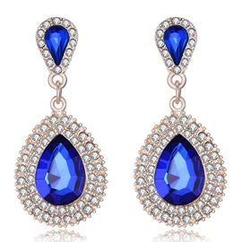 Ericdress Hot Pear Cut Rhinestone Necklace for Women