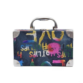 Ericdress Personality Graffiti Prints Crossbody Bag