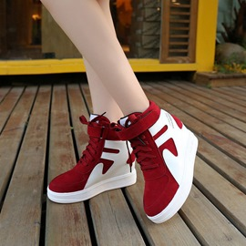 Ericdress Velcro Color Block Platform Women's Sneakers