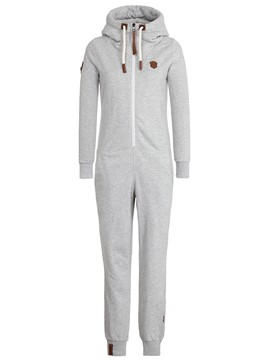 Ericdress Slilm Zipper Full Length Hooded Women's Jumpsuit