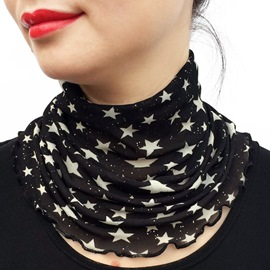 Ericdress Graceful Silk Imitation Floral Scarf for Women
