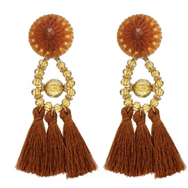 Ericdress Best Seller Tassel Crystal Earring for Women