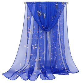 Ericdress Crepe Georgette Silk All Match Scarf for Women