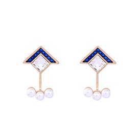 Ericdress Graceful Diamante Imitation Pearl Alloy Earring
