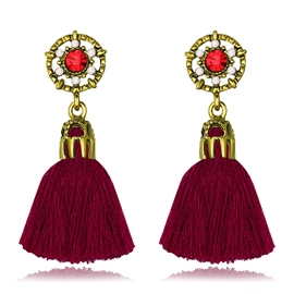 Ericdress Stylish Tassel Drop Earring for Women