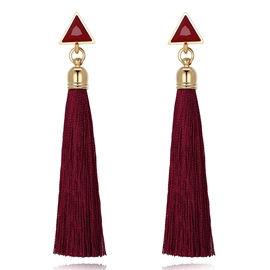 Ericdress Chic Tassel Earring for Women