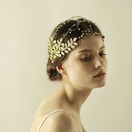 Ericdress Gold Plating Leaf Women's Hair Accessories