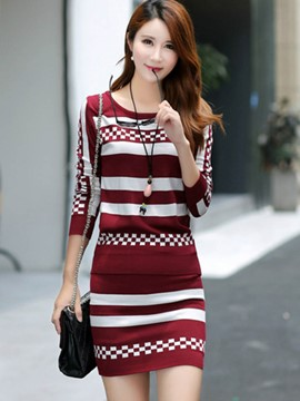 Ericdress Sweater and Skirt Women's Knit Suit