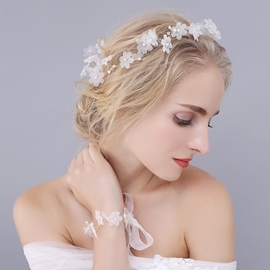 Ericdress High End Holy White Hair Accessories