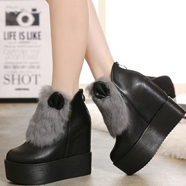 Ericdress Lovely Round Toe Platform Women's Ankle Boots