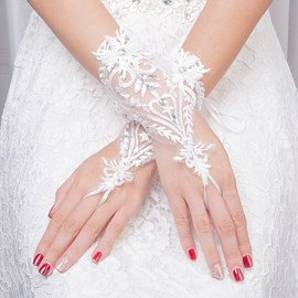 Ericdress Fingerless Tulle Wedding Gloves