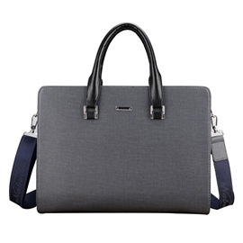 Ericdress Huge Space Zipper Business Men's Bag