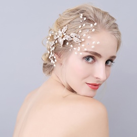 Ericdress Alluring Imitation Pearl Wedding Hair Accessories
