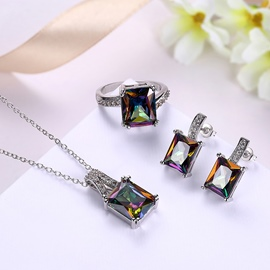 Ericdress High Quality Zircon Jewelry Set for Women