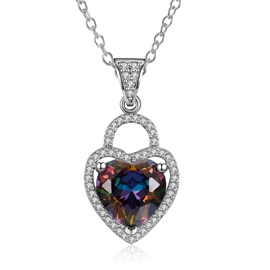 Ericdress All Match Heart Pendant Women's Necklace