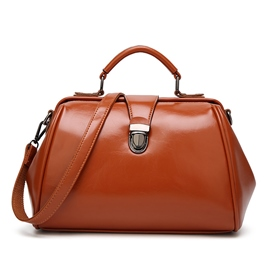 Ericdress Casual Solid Color Huge Space Women Handbag