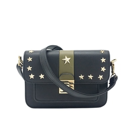 Ericdress Korean Style Star Rivet Crossbody Bag
