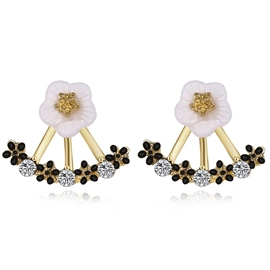 Ericdress Stylish Flower Women's Stud Earring