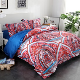 Morpho Butterflies Printed 4-Piece Cotton Bedding Sets