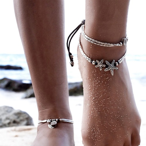 Ericdress Vintage Starfish Women's Anklet