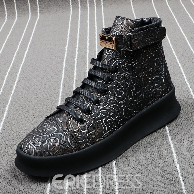 Ericdress Fashion Print Velcro Mens Sneakers