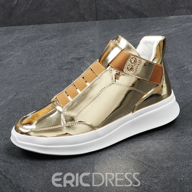 Ericdress Fashion Round Toe Plain Mens Sneakers
