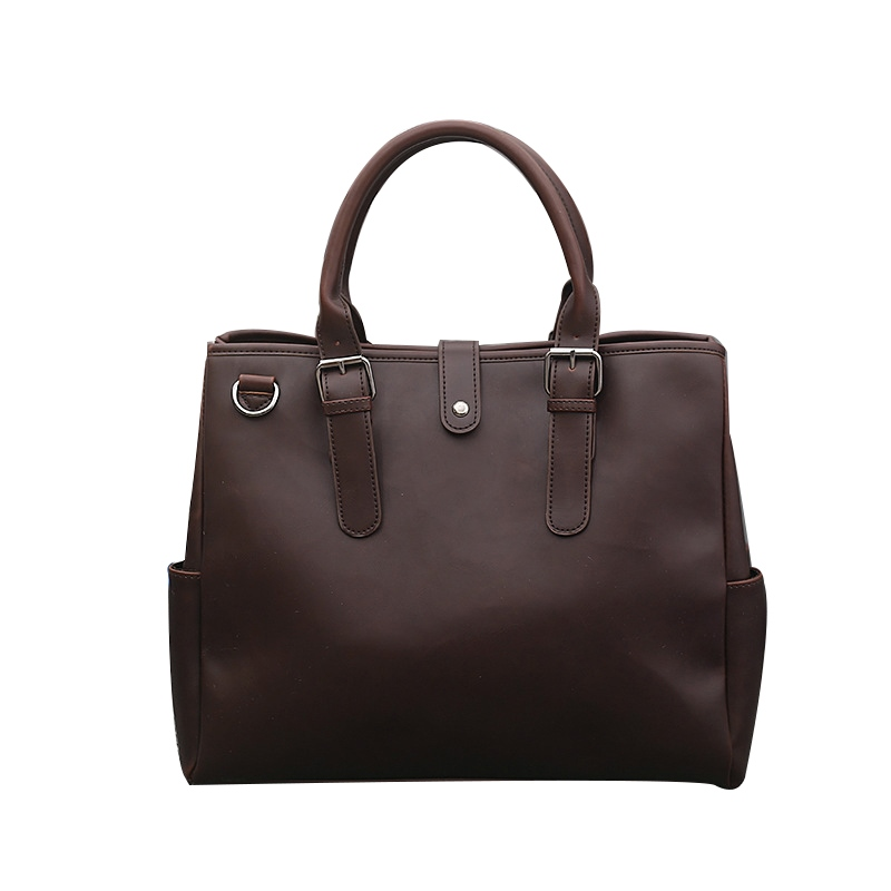 Ericdress Vintage Casual Solid Color Men's Bag