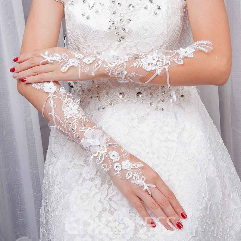 Ericdress Fingerless Wedding Gloves