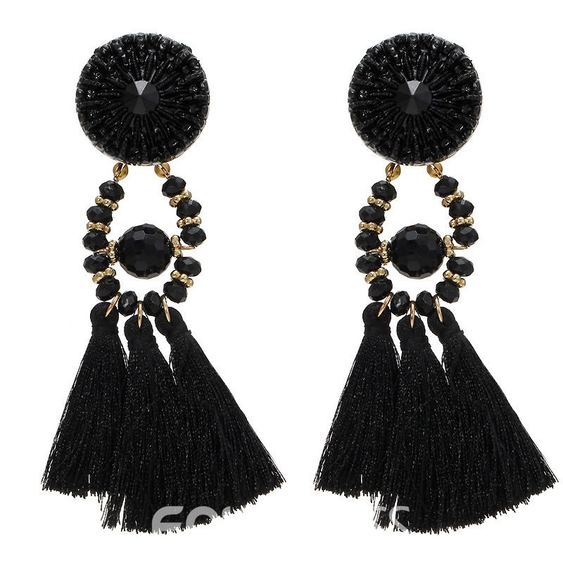 Ericdress Best Seller Tassel Rhinestone Earring for Women
