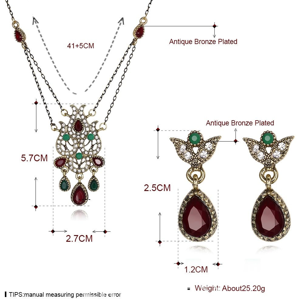 Ericdress Hot Bohemia Style Hollow Out Women's Jewelry Set