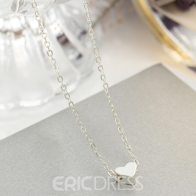 Ericdress Romantic Heart Women's Necklace