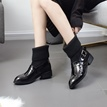 Ericdress Fashion Buckle Patchwork Women's Ankle Boots