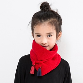Ericdress Autumn&Winter Soild Color Warm Scarf for Kid
