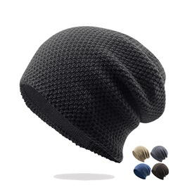 Ericdress Cozy Pure Color Hat for Men