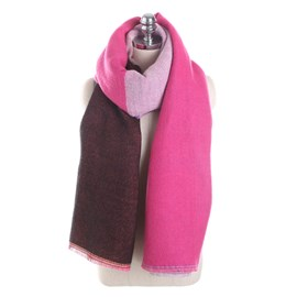 Ericdress Contrast Color Colorful Grid Cozy Scarf for Women