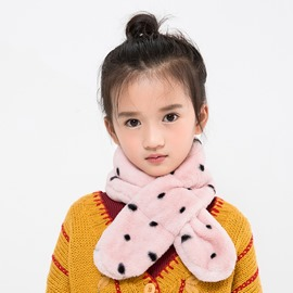 Ericdress Dot Printed Warm Fashion Scarf for Kids